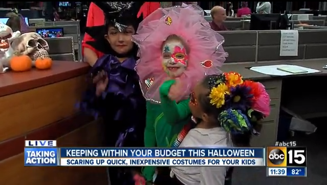 Homemade Halloween on ABC15 - Mom Monday