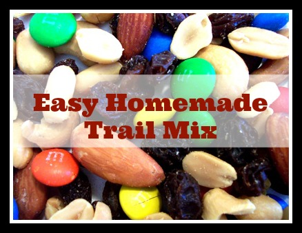 Easy Homemade Trail Mix