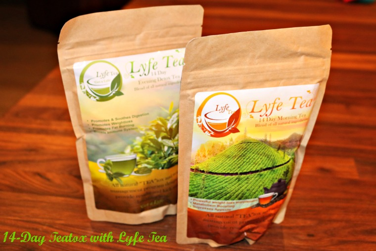14-Day Teatox with Lyfe Tea