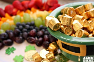 Fruit Rainbow with gold