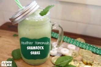 Healthier Shamrock Shake