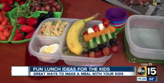 Healthy, fun and kid-friendly lunch ideas