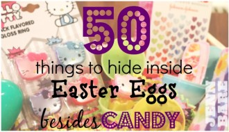 50 Non-Candy Easter Egg Fillers