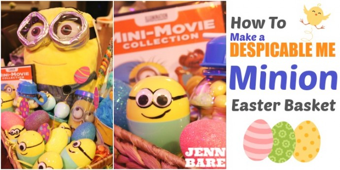 How to Make a Minion Easter Basket