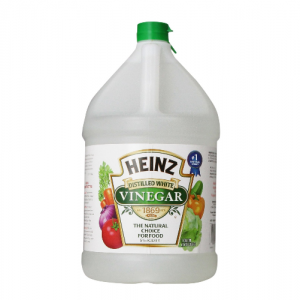 Vinegar is the green way to clean!