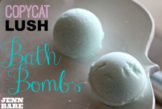 Copycat LUSH Bath Bombs