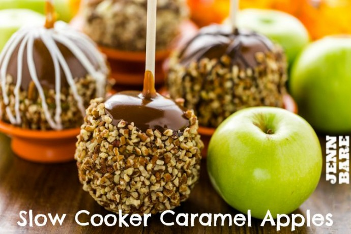 Slow Cooker Caramel Apples
