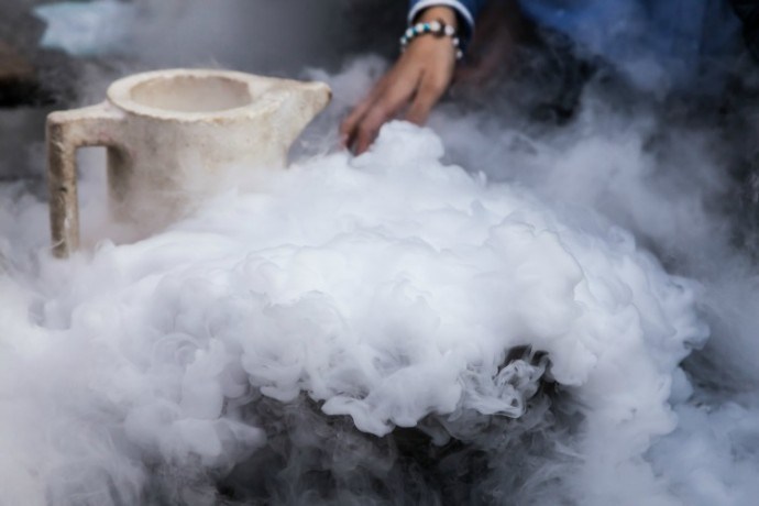 dry ice with punch