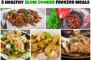 5 Healthy Freezer Meals for your Crock-Pot® Slow Cooker