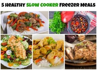 5 freezer meals