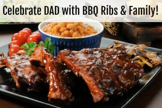 Celebrate Fathers Day with delicious BBQ Ribs