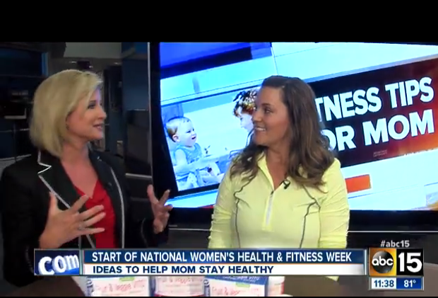 Jenn Bare on Mom Monday - ABC15 in Phoenix