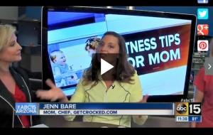 Jenn Bare on ABC 15 Mom Monday