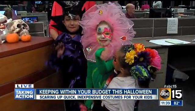 Homemade Halloween on ABC15 - Mom Monday