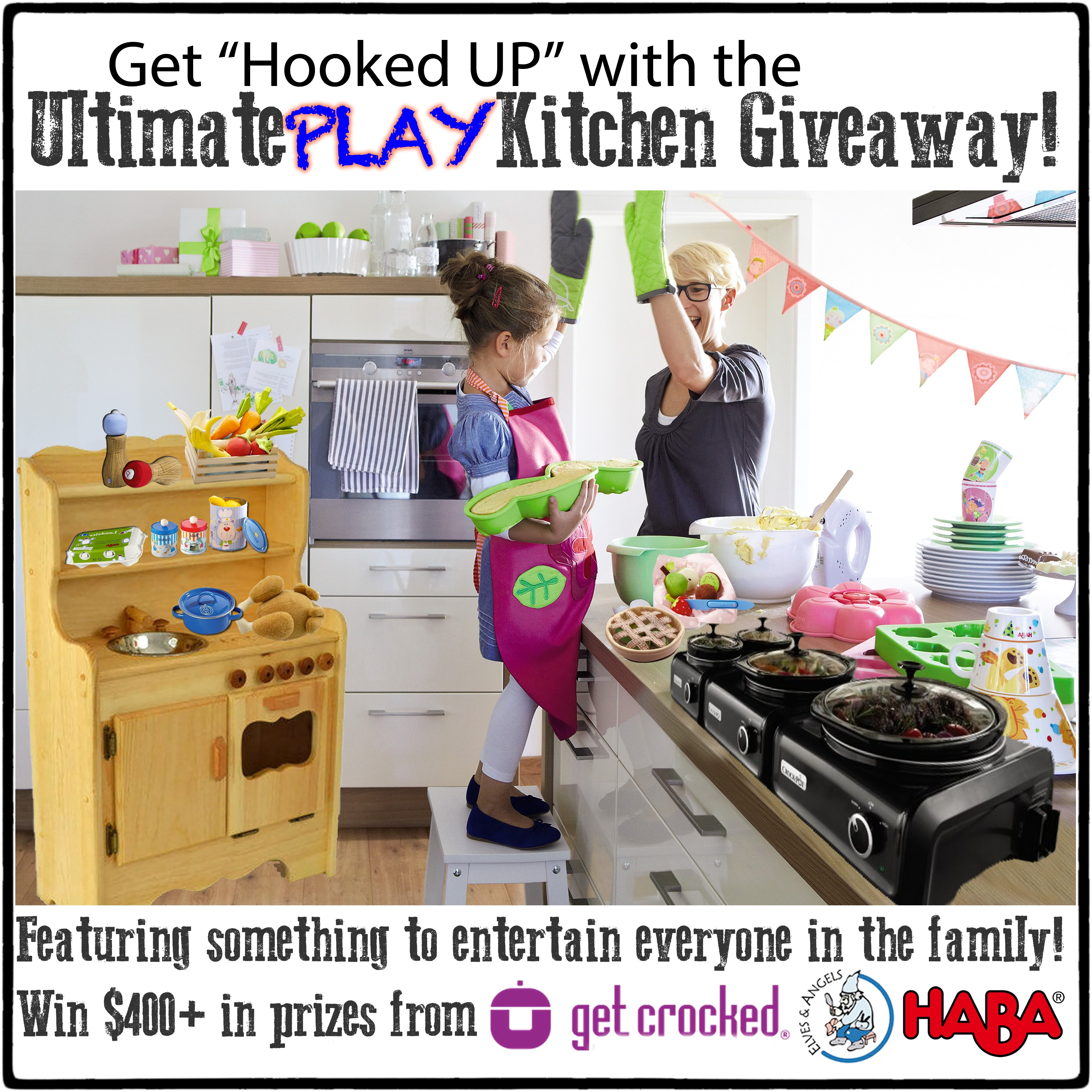 The Ultimate Play Kitchen Giveaway