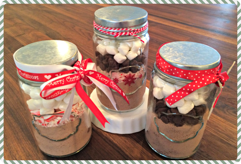Homemade Cocoa Gifts