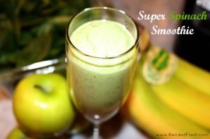 Super Spinach Smoothie