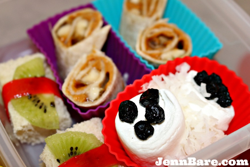 Mock sushi lunch for kids