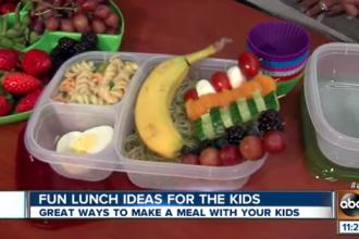 Healthy, fun and kid-friendly lunch ideas