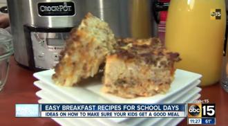 Easy breakfast ideas for busy mornings