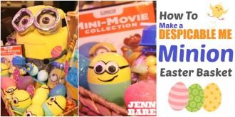 How to Make a Minion Easter Basket