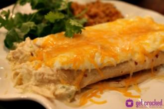 Cheesy Jalapeno Chicken Burritos