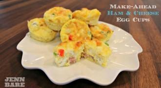 Make Ahead Egg Cups