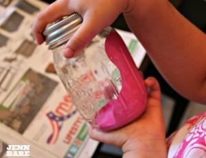 SHAKE the jar!