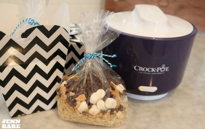 Lunch Crock and S'mores Oatmeal