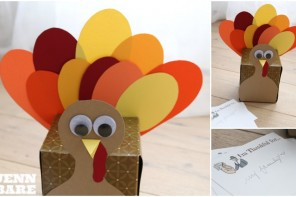 """Thankful Turkey"" – Thanksgiving Day Craft"