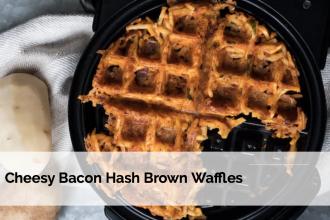 Loaded Hash Brown Waffles